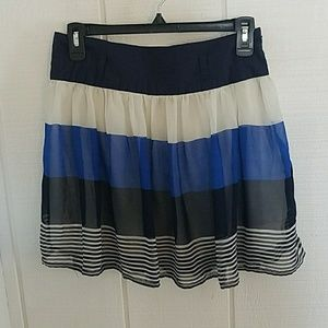 Cute blue and white skirt